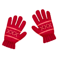 knitted-gloves